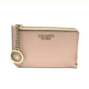 Kate Spade Cameron medium key chain card holder